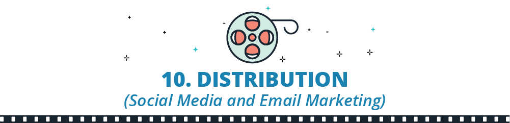distribution social media marketing