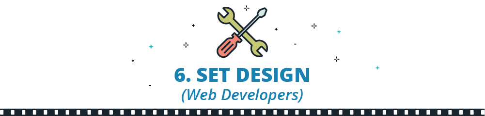 set designers like web developers
