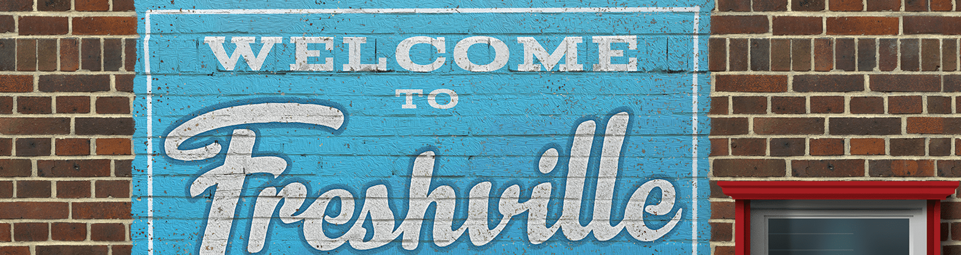 Welcome to Freshville, Fresh-Lock's PACK EXPO 2018 Tradeshow Booth